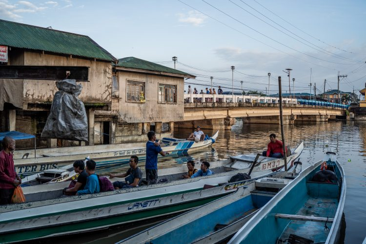 Philippines' Sinking Town